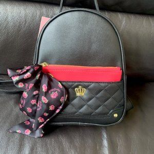 NWT!! Juicy Couture Crown Royal Backpack